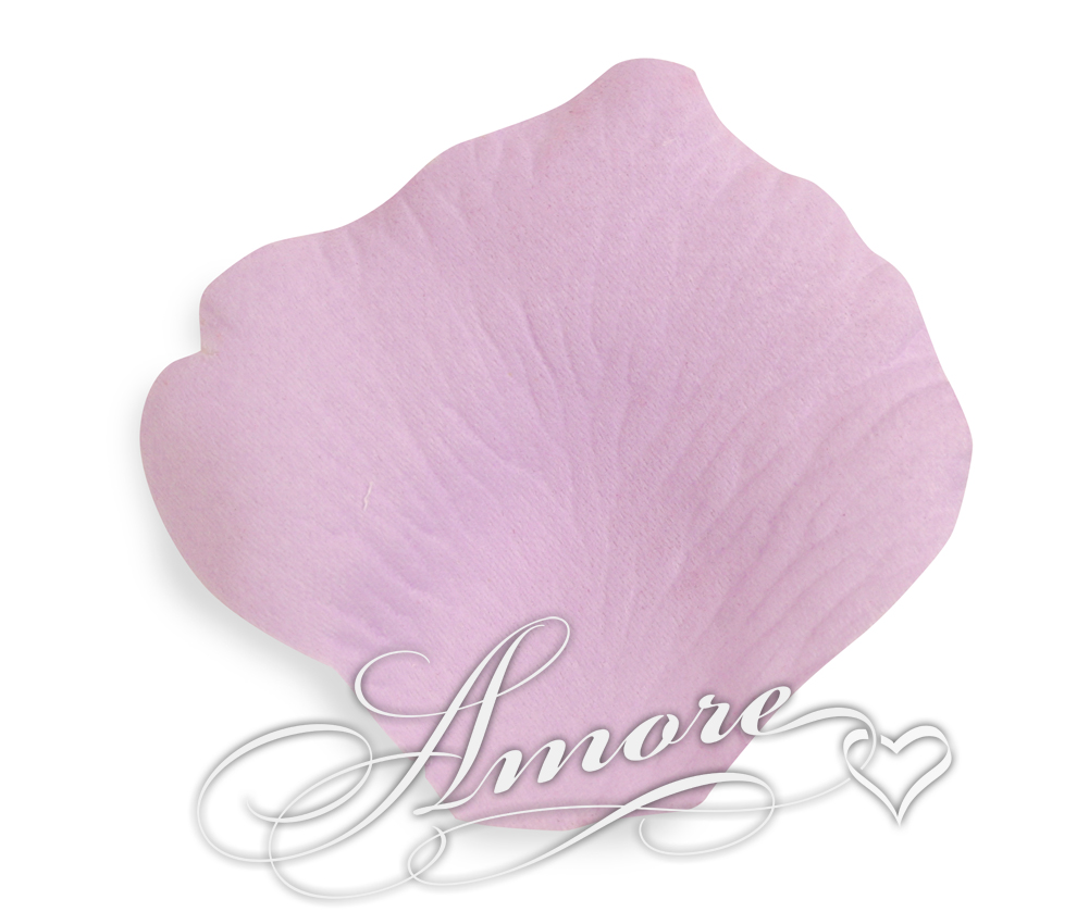 Lavender Lilac Silk Rose Petals Wedding 600