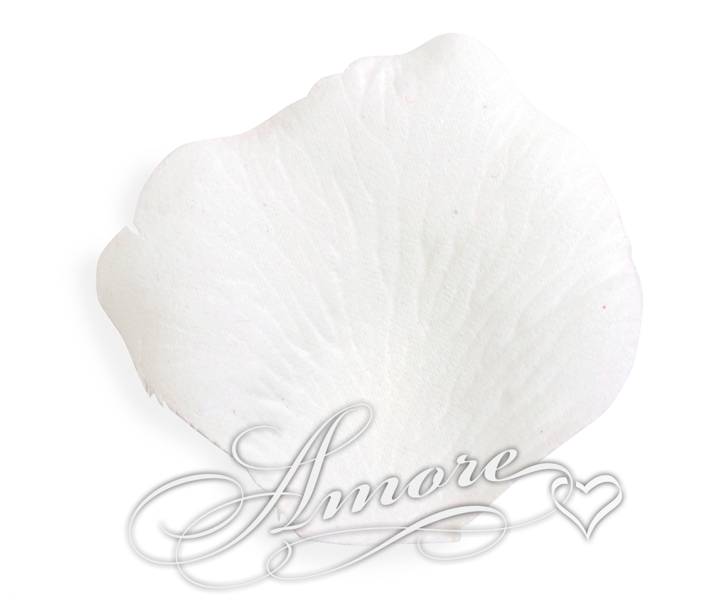 Snow White Silk Rose Petals Wedding 100