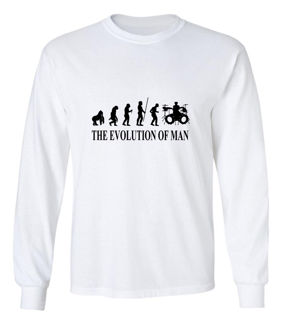 Evolution_Of_Men Long Sleeve T-Shirt