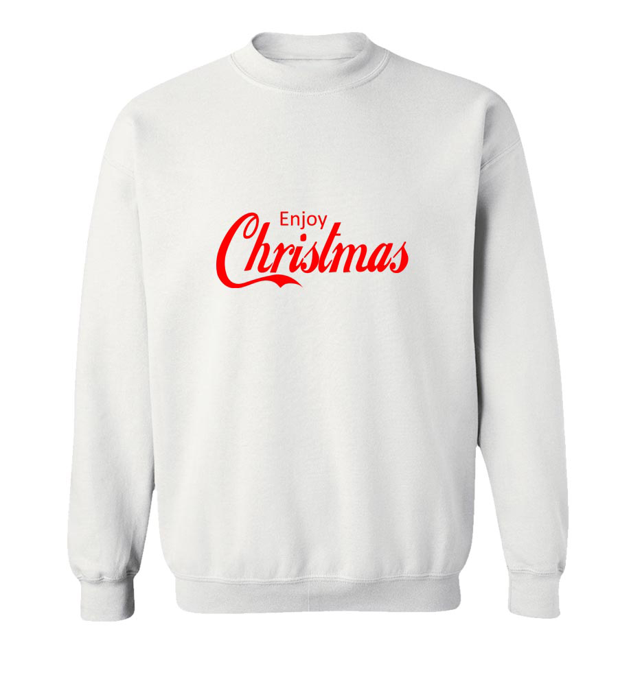 Enjoy Christmas Crew Neck Sweatshirt
