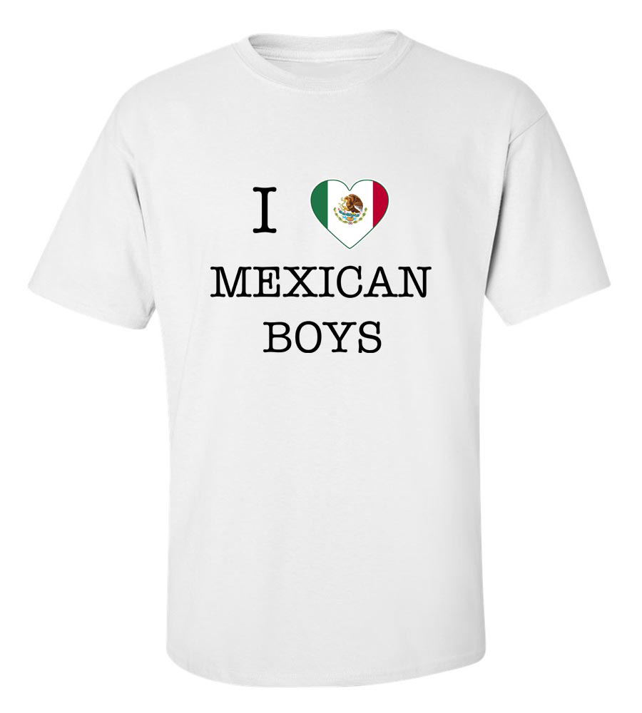 I Love Mexico Boys T-Shirt