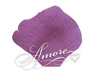 Violet Wisteria Silk Rose Petals Wedding 200