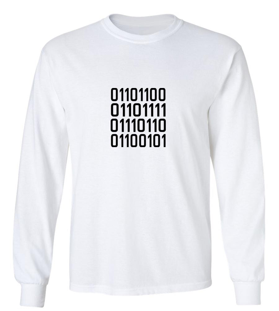 011011001  Long Sleeve T-Shirt