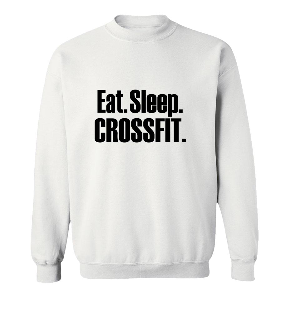 Eat Sleep Crossfit Crew Neck Sweatshirt