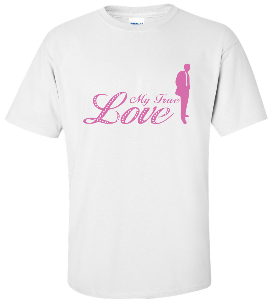 My True Love Bride Wedding T Shirt