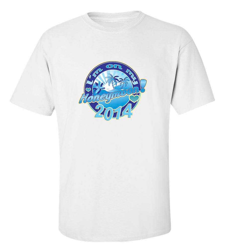 I'M On My Honeymoon! 2014 T Shirt