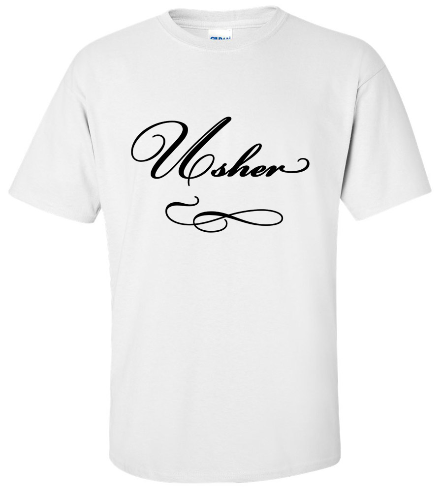 Usher Wedding T Shirt