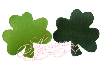 10 000 Silk Shamrock Leaves