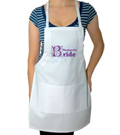 The Story of the Bride Wedding Apron