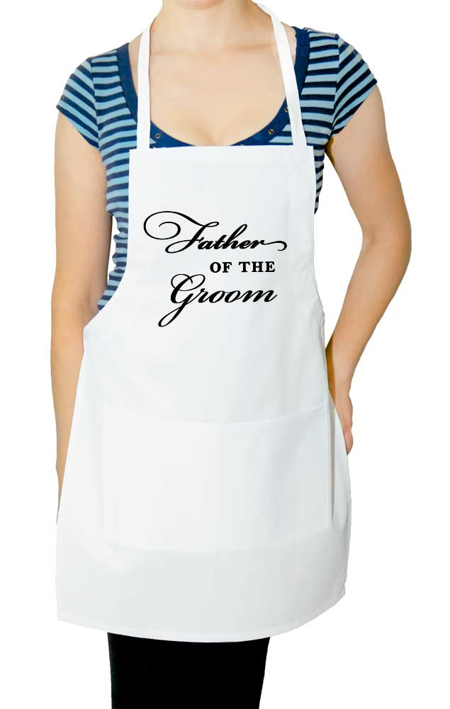 Father of the Groom Wedding Apron