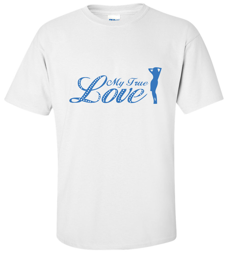 My True Love Groom Wedding T Shirt