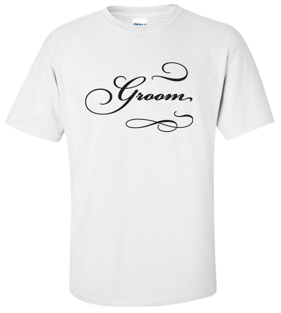 Groom Wedding T Shirt