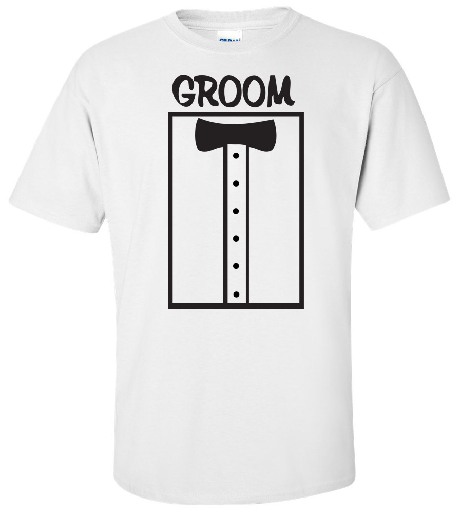Groom Wedding T Shirt 5