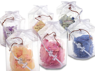 Rose Petals Soap***22 boxes/case