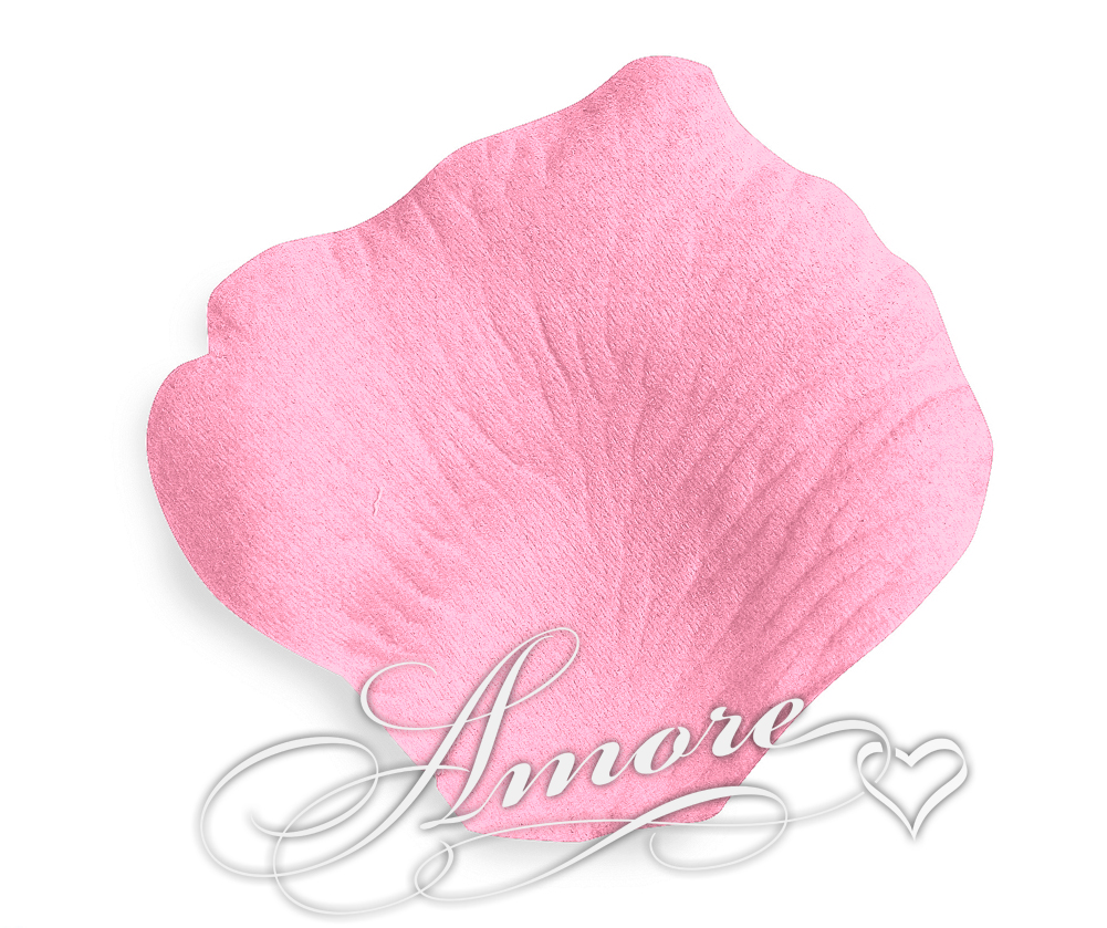 Bubblegum Pink Silk Rose Petals Wedding Bulk 10000