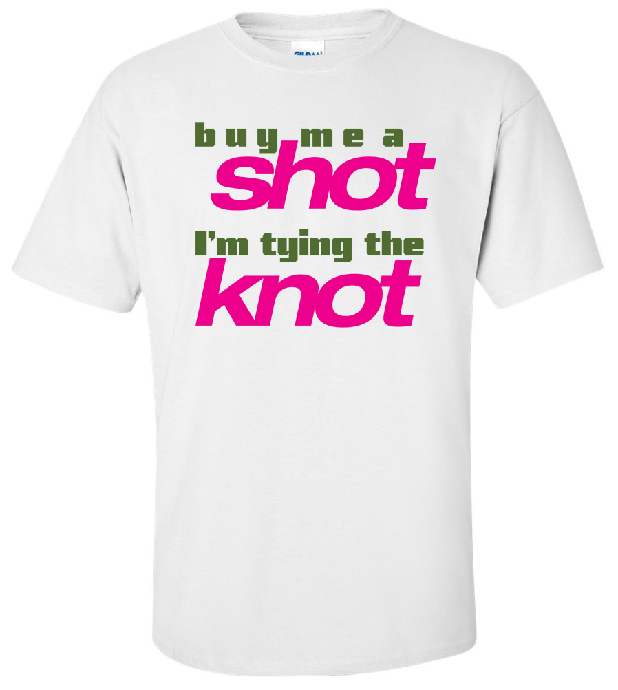 Tie The Knot Wedding T Shirt