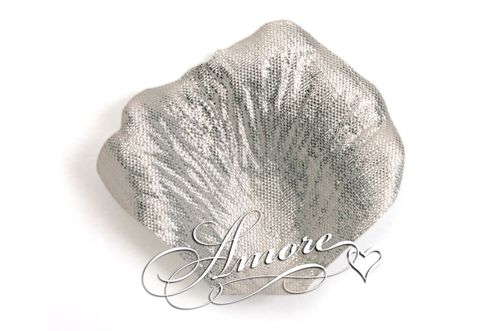 Silver Silk Wedding Rose Petals Bulk 10000
