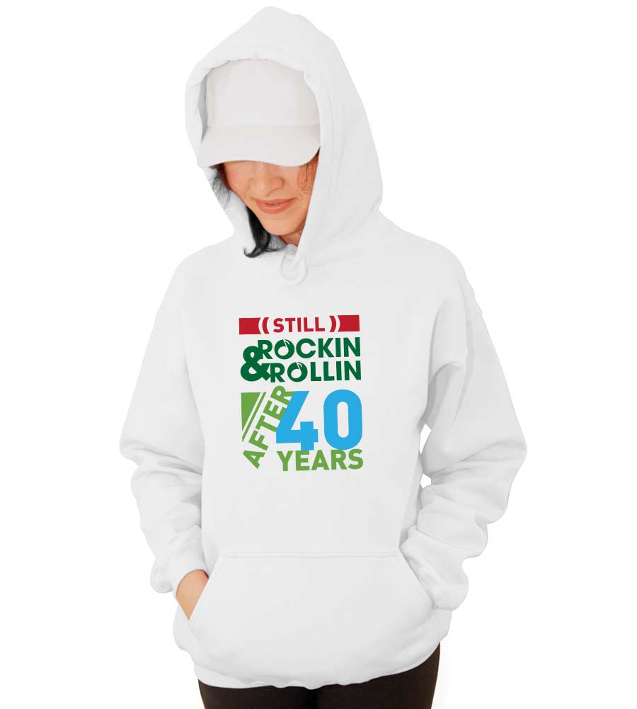 Rockin Rollin Hooded Sweatshirt