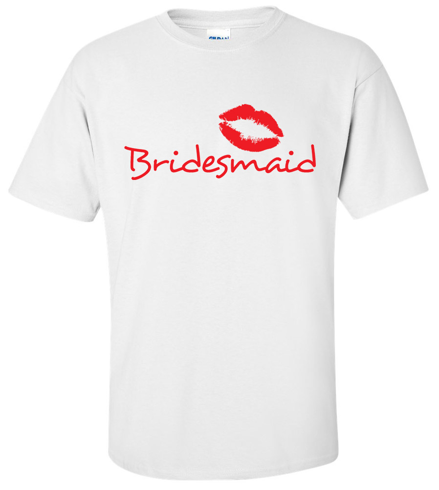 Bridesmaid Wedding T Shirt