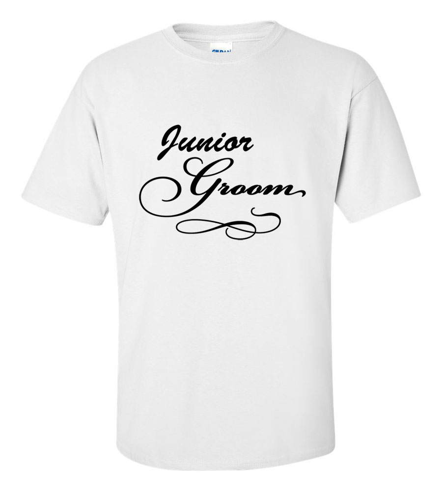 Junior Groom Wedding T Shirt