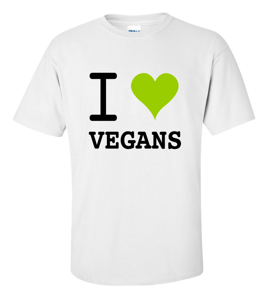 I Love Vegans T Shirt