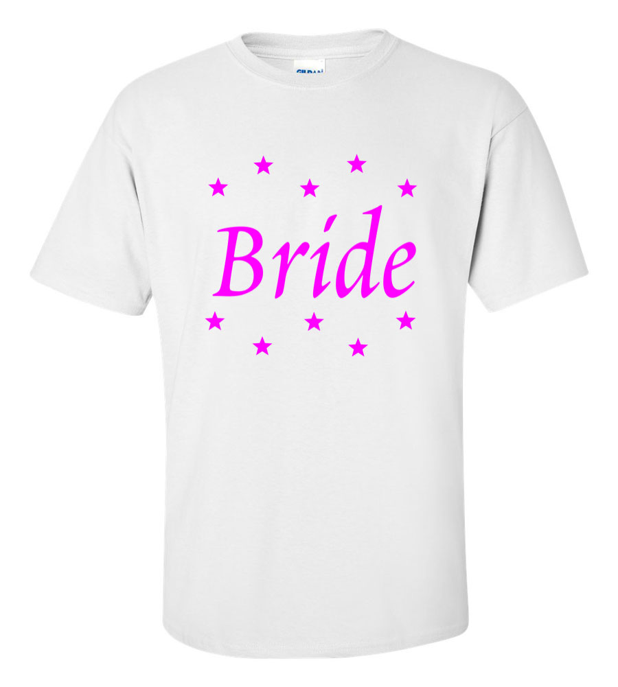 Bride Star Wedding T Shirt