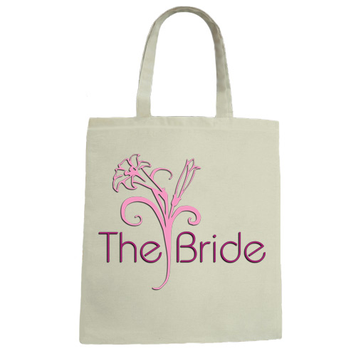 The Bride Wedding Canvas Tote Bag