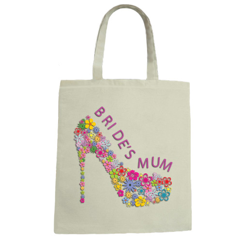 Brides Mum Wedding Canvas Tote Bag