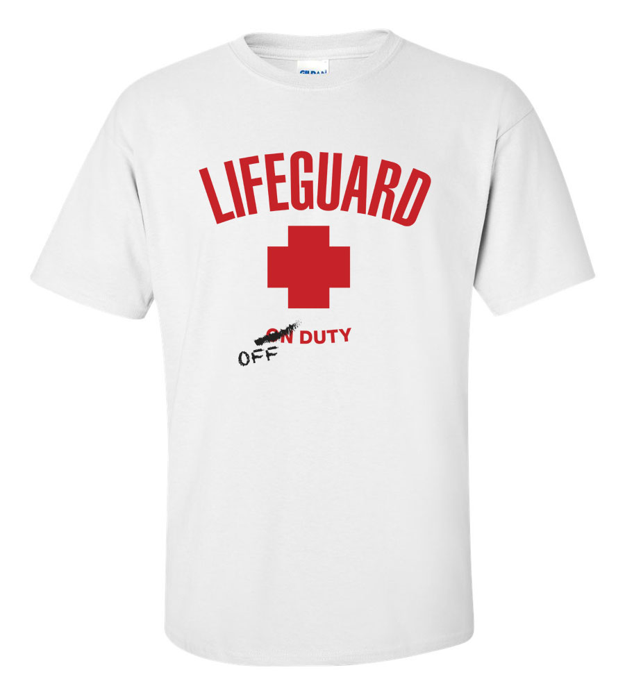 Lifeguard Off Duty Funny T Shirt