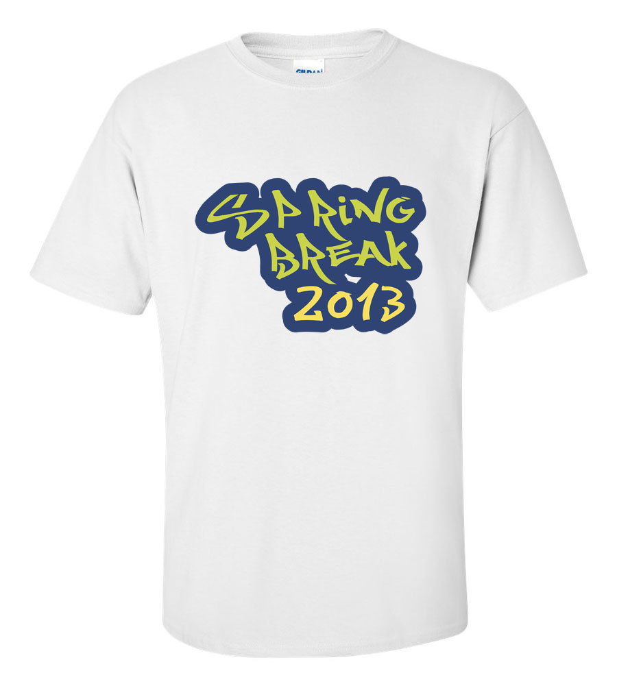 Spring Break 2013 T Shirt