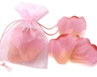 Rose Petal Soap Wedding Favors