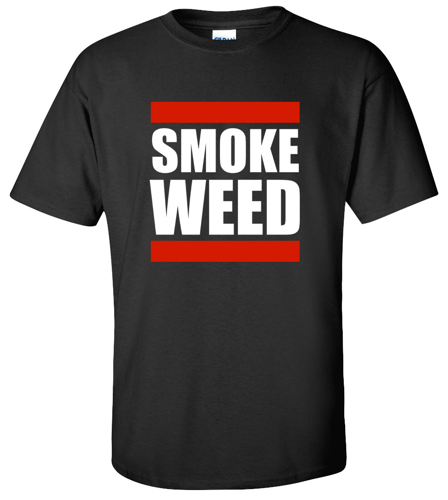 Smoke Weed Marijuana T Shirt