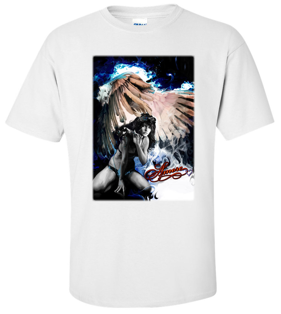 Amore Fantasy Angel T Shirt