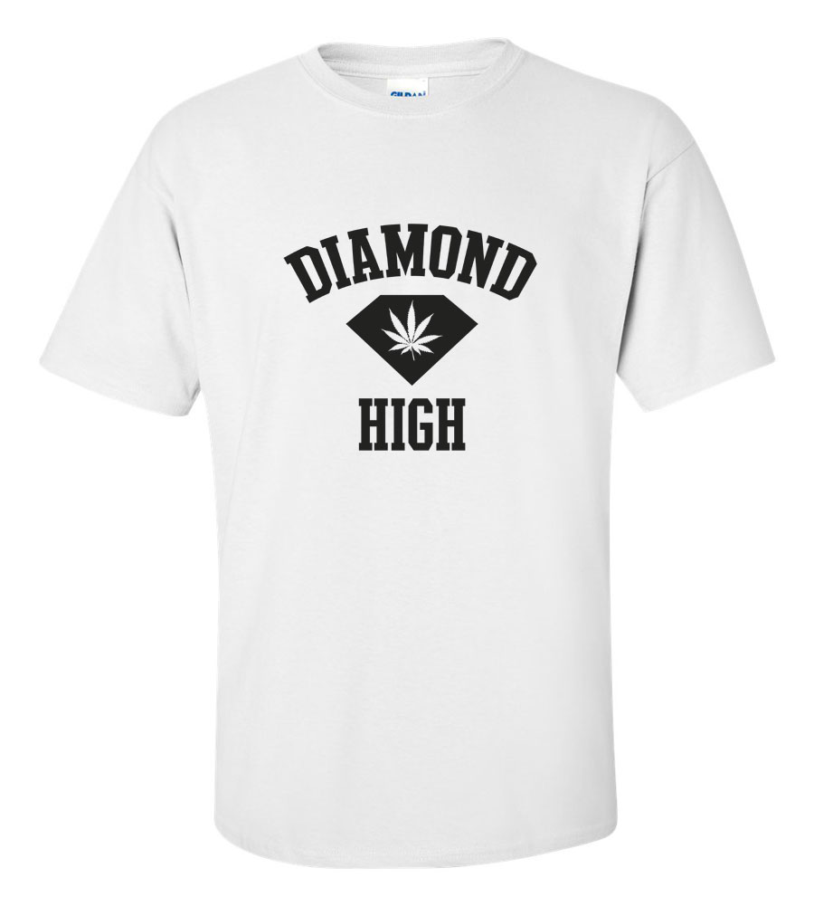 Diamond High Funny T Shirt