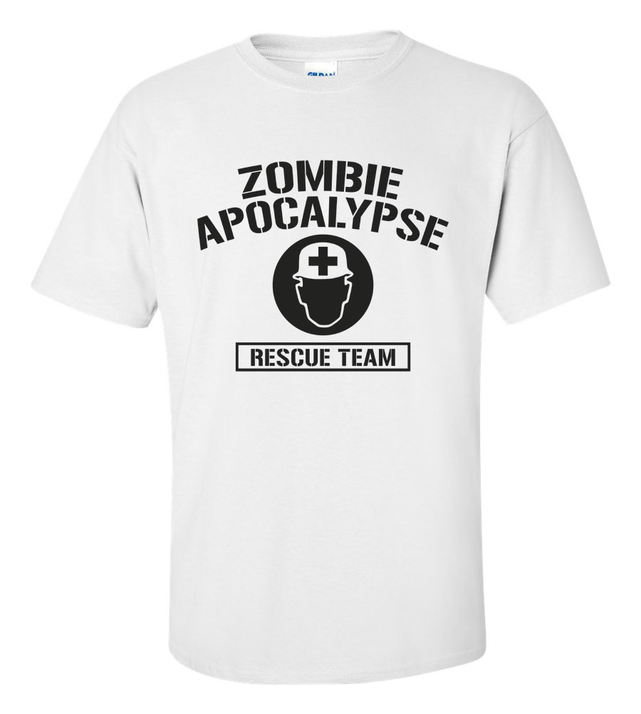 Zombie Apocalypse Rescue Team T Shirt