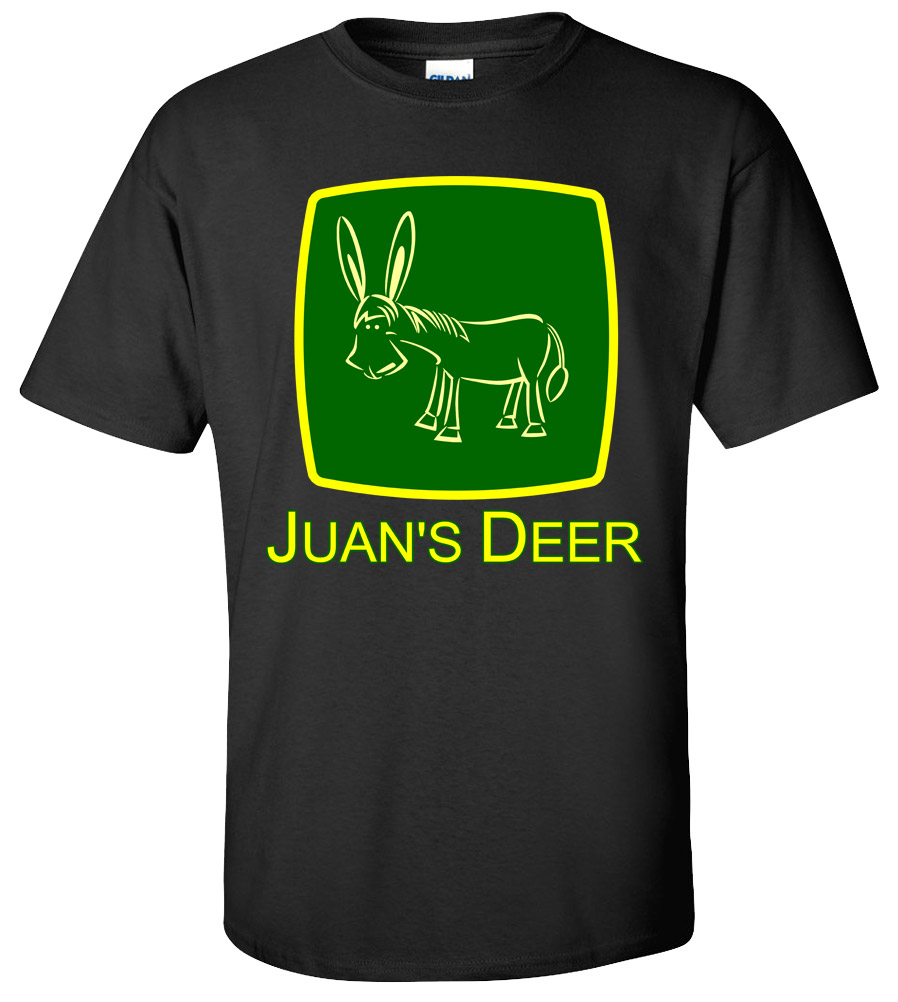 Juan's Deer  Funny  Humor T-shirt  New  Spanish Mexican Tee