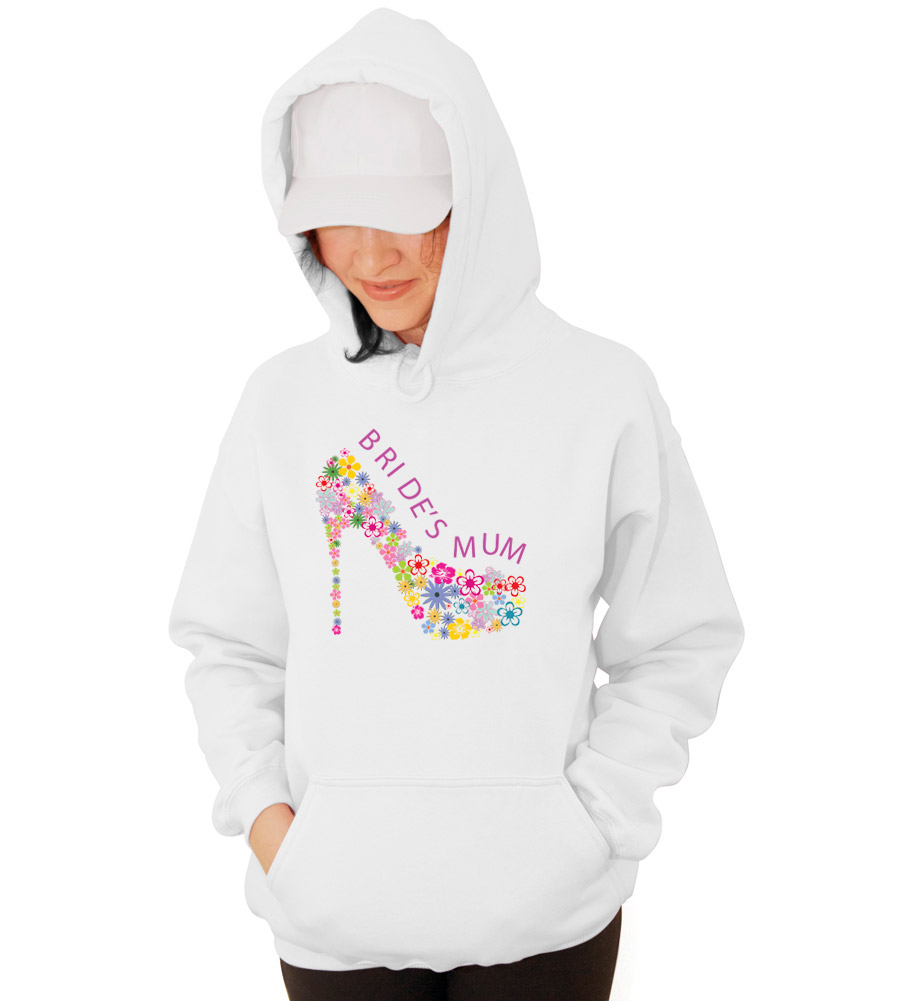 Brides Mum Wedding Hooded Sweatshirt
