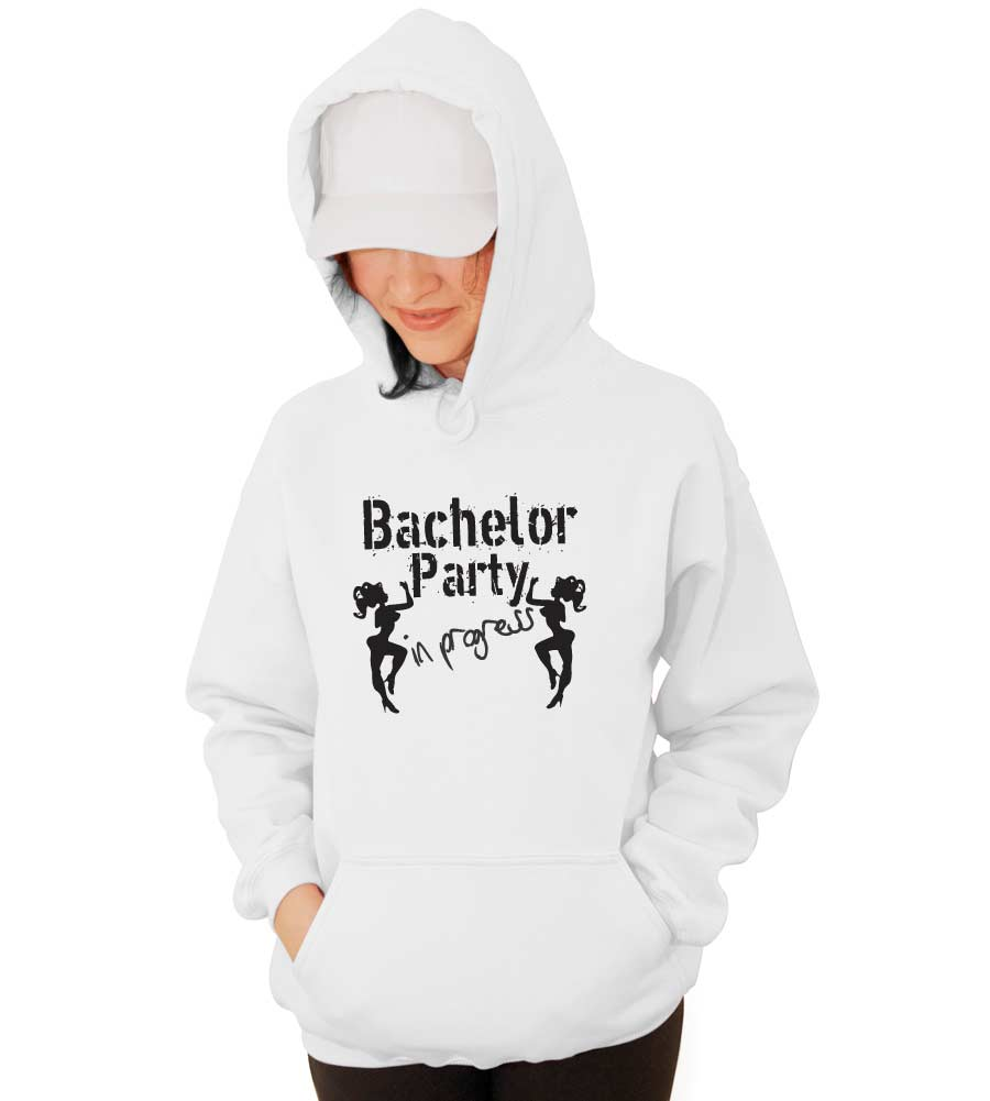 Bachelor Party Wedding Hooded Sweatshirt