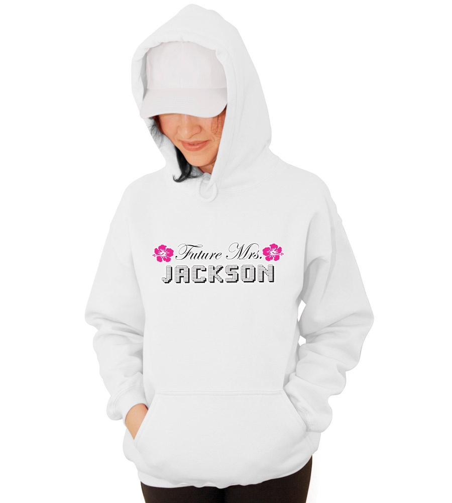 Future Mrs. Bride Wedding Hooded Sweatshirt