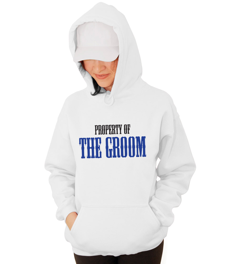 Property of the Groom Wedding Hooded Sweatshirt