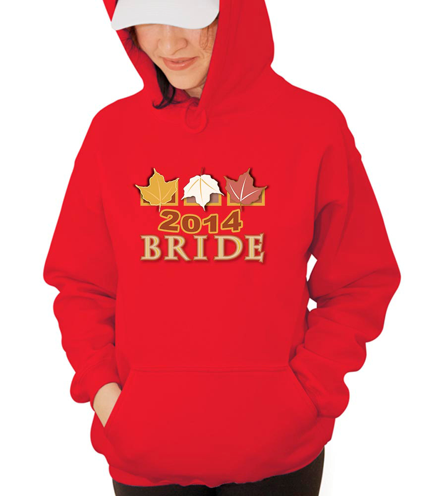Bride Fall 2014 Hooded Sweatshirt