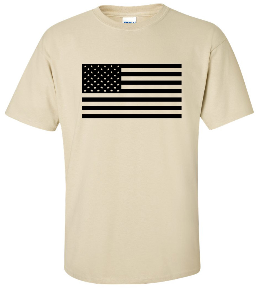 USA Flag Military Army Ranger Cool New T-Shirt Retro Airborne Military Army Strong Tee