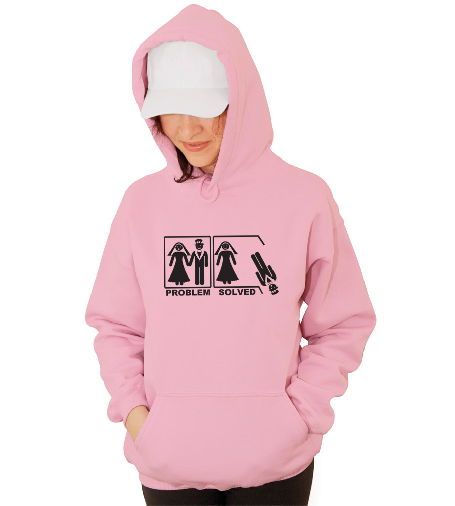Problem Solved Wedding Hooded Sweatshirt