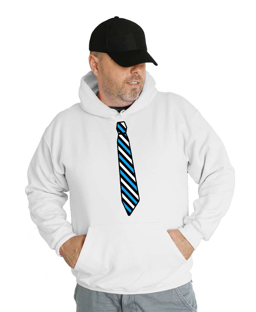 Tie Wedding Hooded Sweatshirt