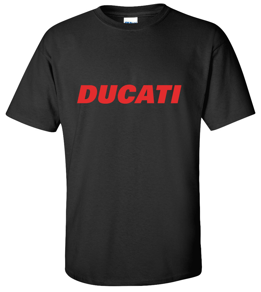 Ducati Motorcycle T-shirt Sport Race Bike Tee
