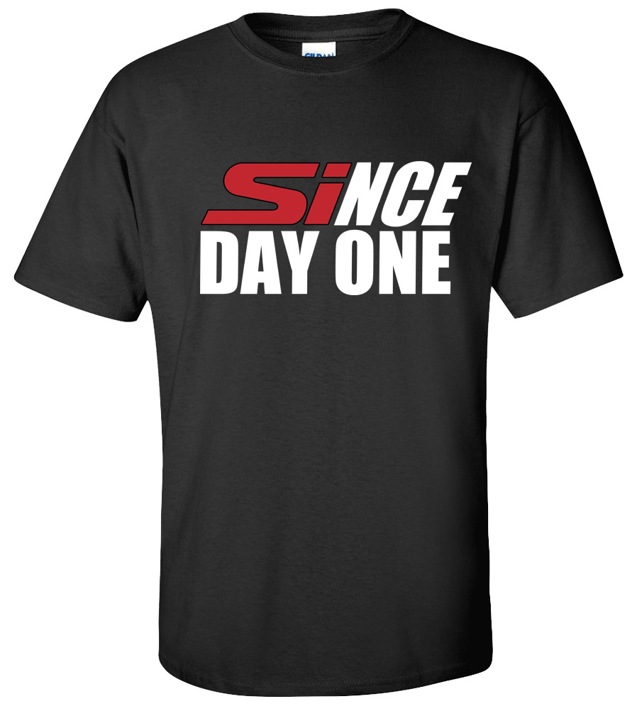 Since Day One Honda Civic Si T-shirt Sport Race Car Acura Integra Tee