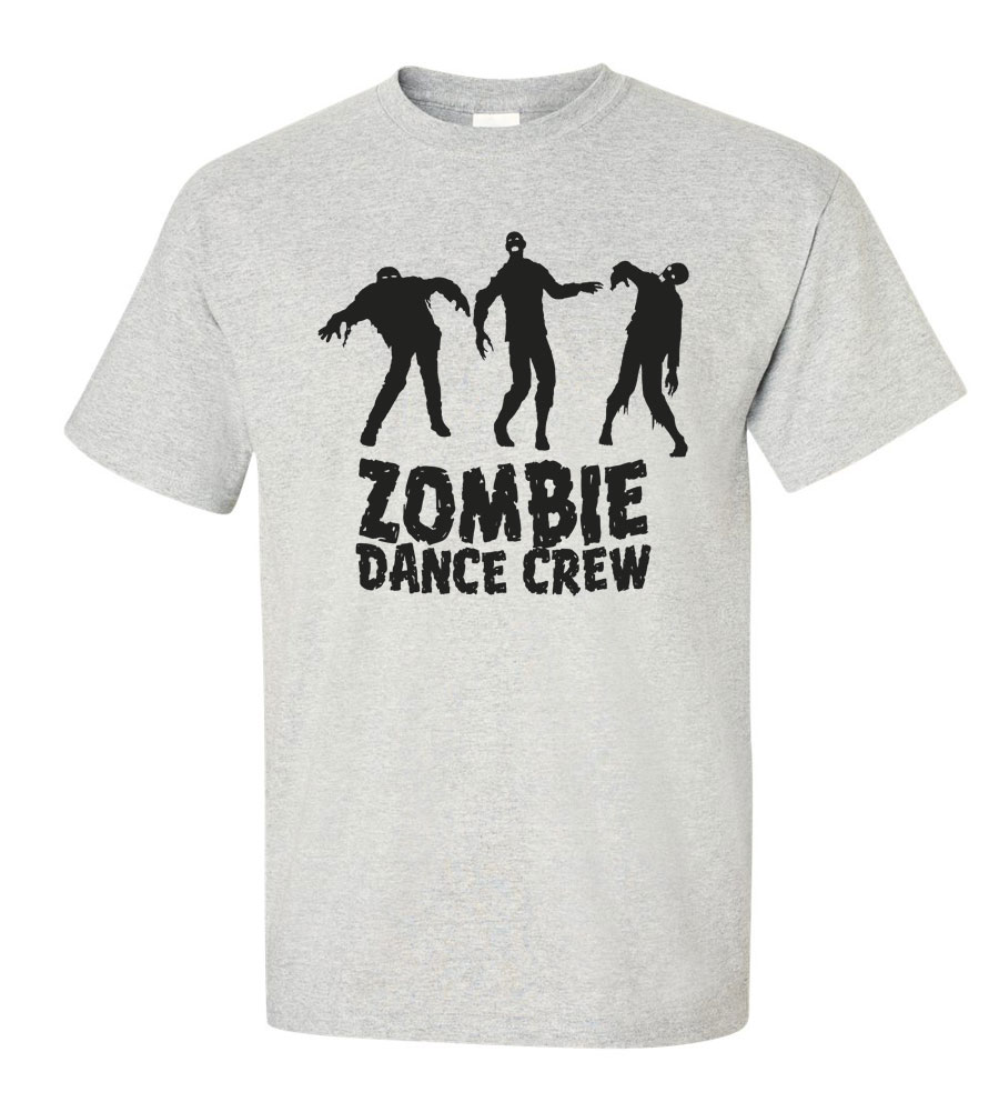 Halloween Zombie Dance Crew T-shirt Funny Scary