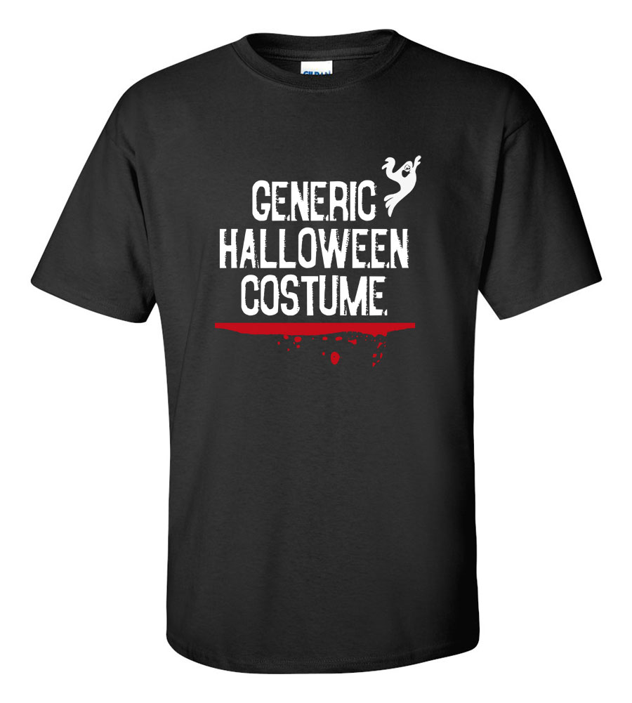 Generic Halloween Costume T-shirt Funny Scary