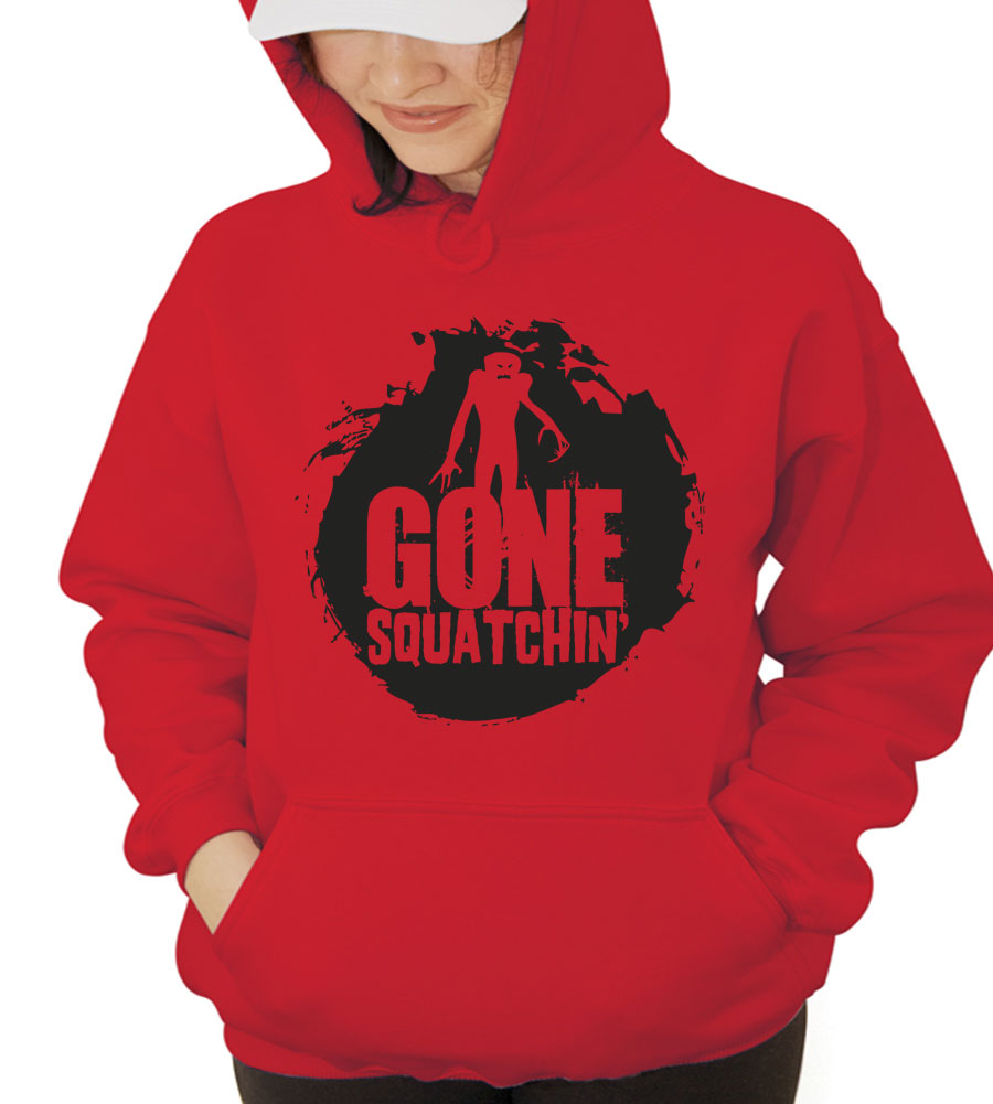 Halloween Gone Squatchin' Hooded Sweatshirt