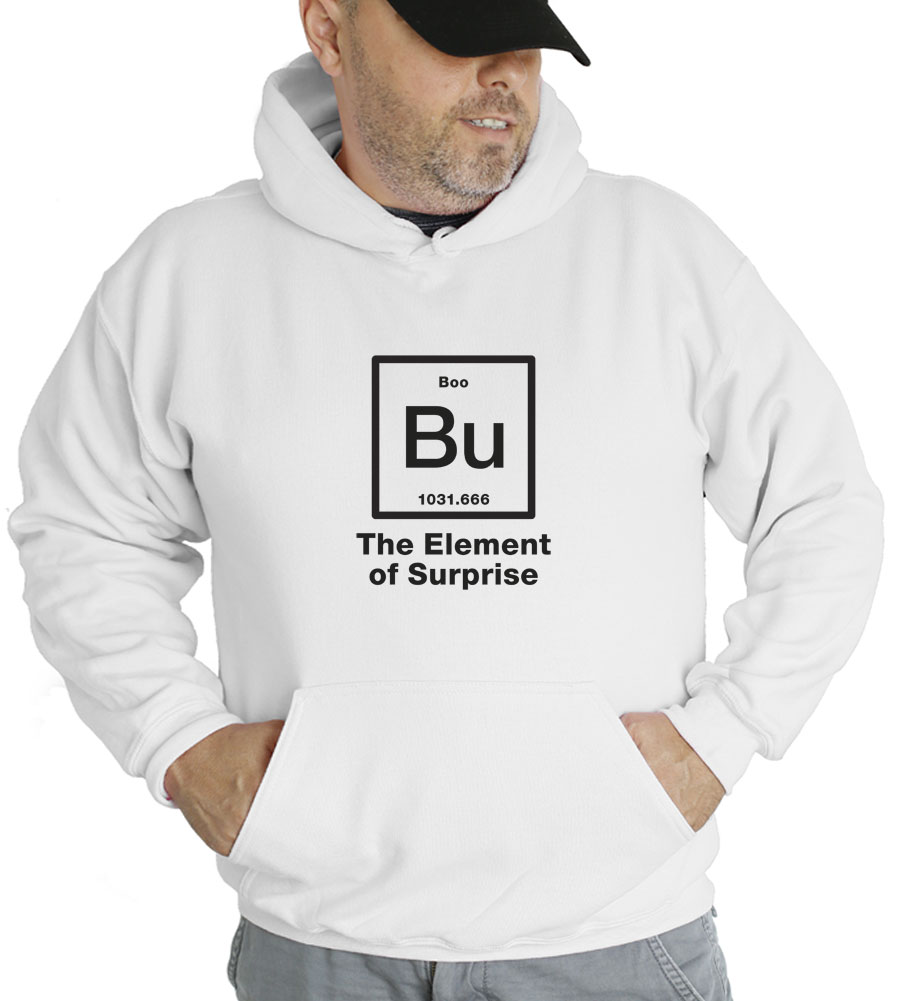 Halloween Bu Element of Surprise Hooded Sweatshirt